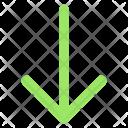 Arrow Descend Down Icon