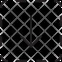 Down Arrow Square Icon