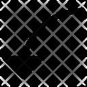Down Arrows Icon