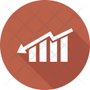 Bar Growth Chart Icon