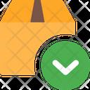 Down Box Icon