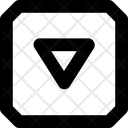 Down Button Lift Icon