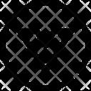 Caret Circle Down Icon