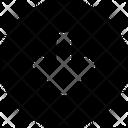 Circle Arrow Down Arrow Icon