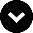 Down Circle Icon