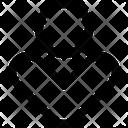 Down Circle Arrow Arrows Icon