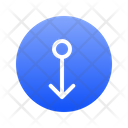 Down Direction Icon