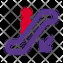 Down Escalator Icon