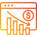 Reduce Cost Bankrupt Loss Icon