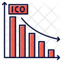 Down Graph Ico Down Graph Ico Icon