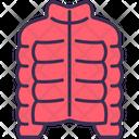 Down Jacket Winter Icon