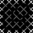 Down Lefft Circle Arrow Arrows Icon