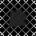 Down Arrow Left Icon