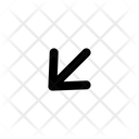 Down Arrow Next Icon