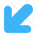 Down Left Navigational Icon