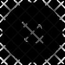 Down Symbol Direction Icon