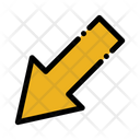 Down Left Arrow Icon