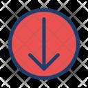 Move Down Arrow Icon