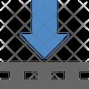 Down Parcel Icon