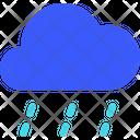 Down Pour Weather Cloud Icon