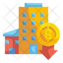 Down Rent Icon