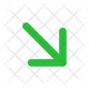 Arrow Down Right Arrow Arrows Icon
