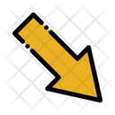 Down Right Arrow Icon