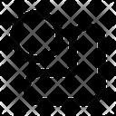 Down Right Circle Arrow Arrows Icon