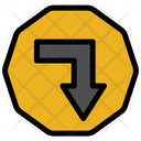 Down Sign Icon