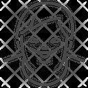 Down Syndrome Child Kid Icon