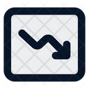 Down Trend Icon