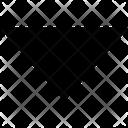 Down Triangle Arrow Arrow Below Icon