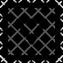 Down Triangle Arrow Direction Arrow Direction Icon
