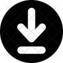 Arrow Download Round Icon