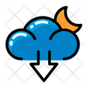 Weather Download Cloud Icon