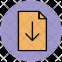 Download File Web Icon