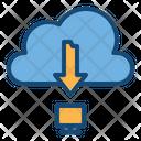 Download Cloud Download Download From Cloud Icon