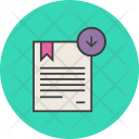 Download Import Certificate Icon