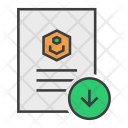 Download Save Document Icon