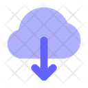 Download Cloud Download From Cloud Icon
