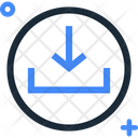 Download Downloading Save File Icon