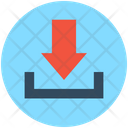 Download Downloading Inbox Icon