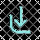Download Down Arrow Icon
