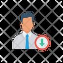 Download Arrow User Icon
