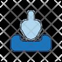 Artboard Download Drop Icon