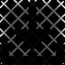 Interface Arrow Down Icon