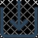 Arrow Receive Down Icon
