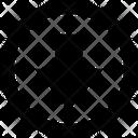 Arrow Circle Down Mini Download Download File Icon