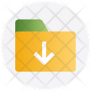 In Download Interface Icon