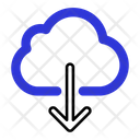Download From Server Icon Icon
